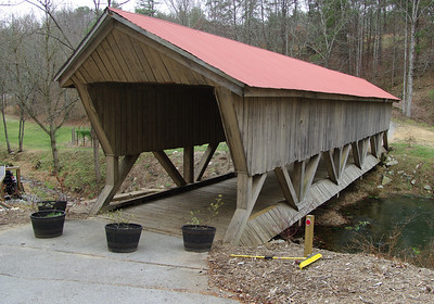 Brown's Covered Bridge on private property(Oops!) off of Sterling Rd. in Roanoke County going towards Windy Gap Mountain. December 6,2008