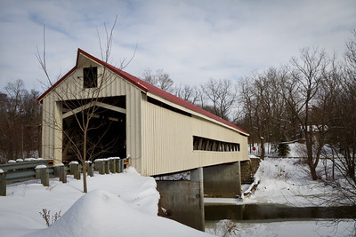 Mechanicsville Road Covered Bridge 001