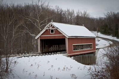 Netcher Road Covered Bridge 003