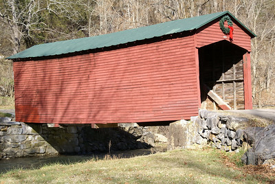 Link's Farms Covered Bridge near Mountain Lake