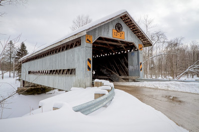 Doyle Road Covered Bridge 004