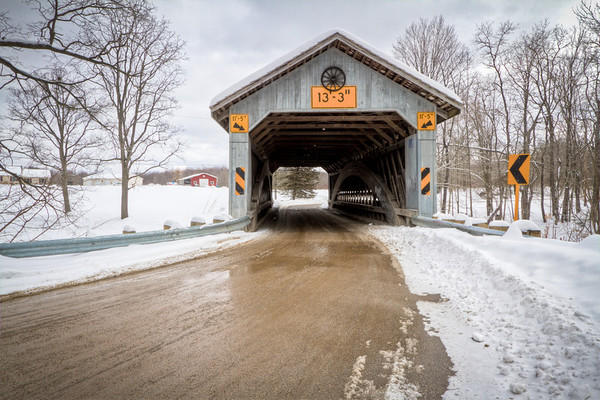 Doyle Road Covered Bridge 003