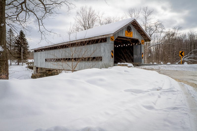 Doyle Road Covered Bridge 001