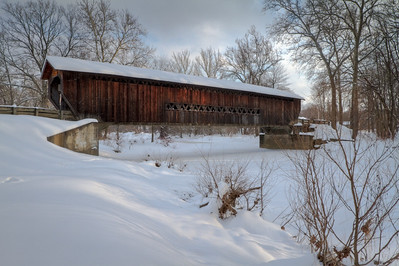 Benetka Road Covered Bridge 001
