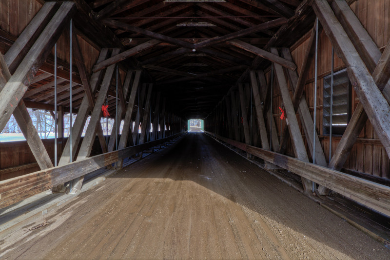 Harpersfield Covered Bridge 004