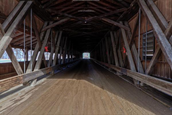Harpersfield Covered Bridge 004