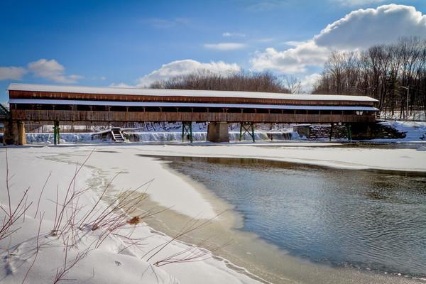 Harpersfield Covered Bridge 001