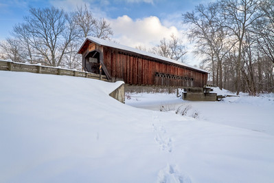 Benetka Road Covered Bridge 002