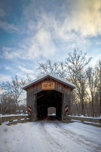 Benetka Road Covered Bridge 003