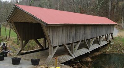 Private covered bridge in Roanoke County...12/06/08