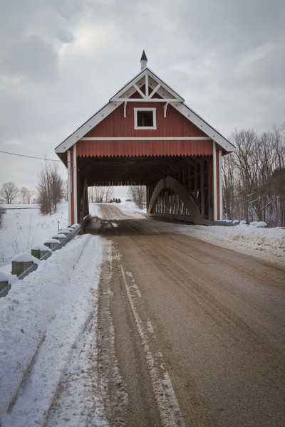 Netcher Road Covered Bridge 001