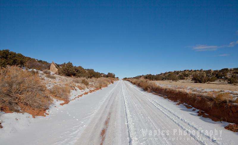 Notom-Bullfrog Road, Entering Waterpocket