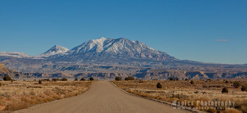 Mount Holmes, Henry Mountain Range