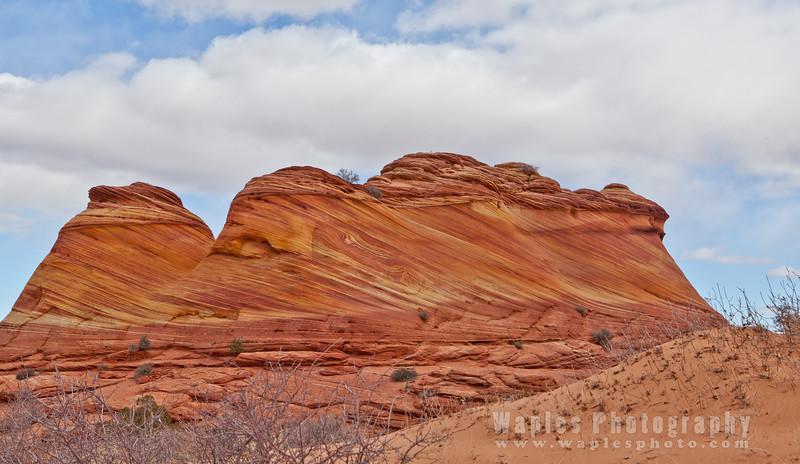 Multi-Colored Buttes