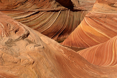One of the most unique natural features in the country, The Wave is now known worldwide.  Although the hike is not difficult, the BLM permit to hike here is the hardest part.   Only a handful of permits/day are available.