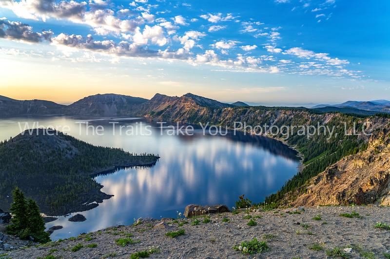53. Early Morning At Crater Lake