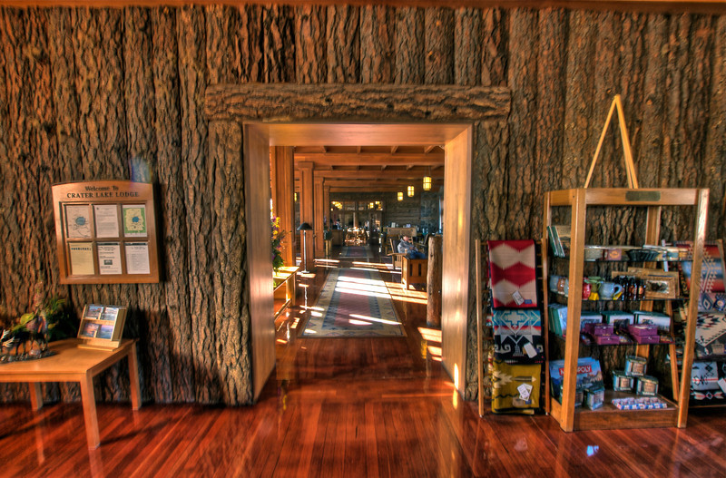 Lodge store at Crater Lake