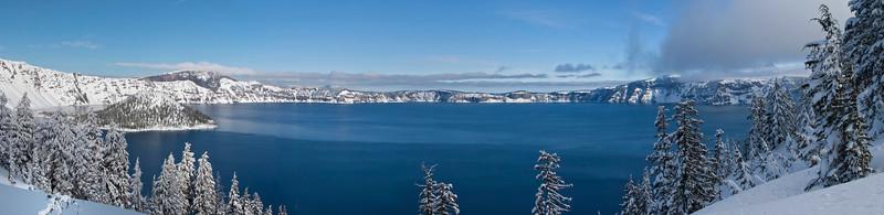 Crate Lake Panorama