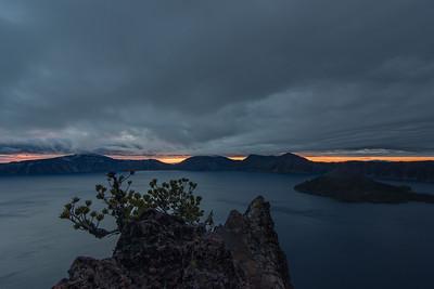 Crater Lake Sunrise 2