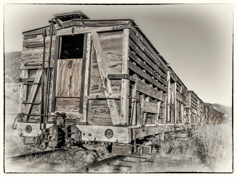 Cattle Cars - Denver & Rio Grande (Creede Branch)