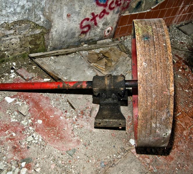 Belt Drive Wheel & Axle