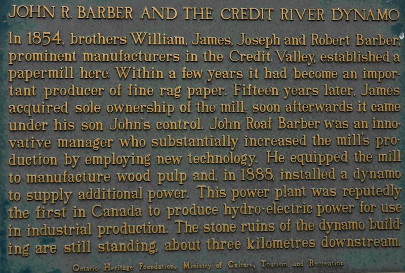 Creit River Mill History