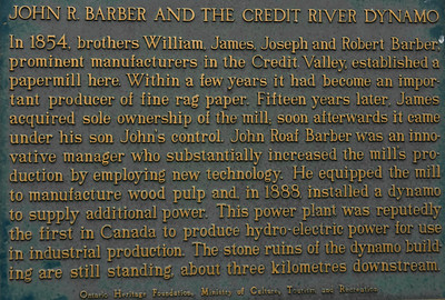 Creit River Mill History