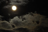 Clouds & Moon - 15:  Longer exposure (1.3 seconds), smaller aperature.  Too much blur for my liking, but figured I'd throw it out there anyway.