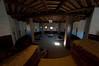 Aztec National Monument interior of kiva