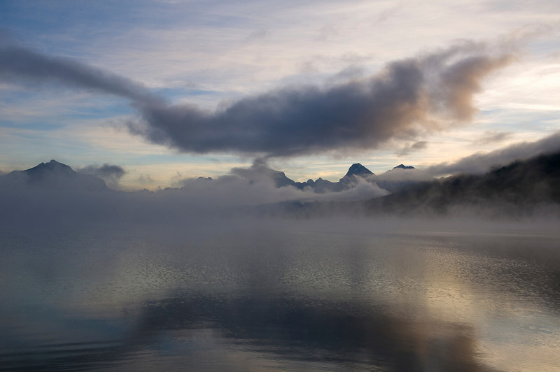 Glacier National Park, sunrise