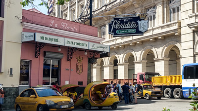 La Floridita, frequented by Hemingway