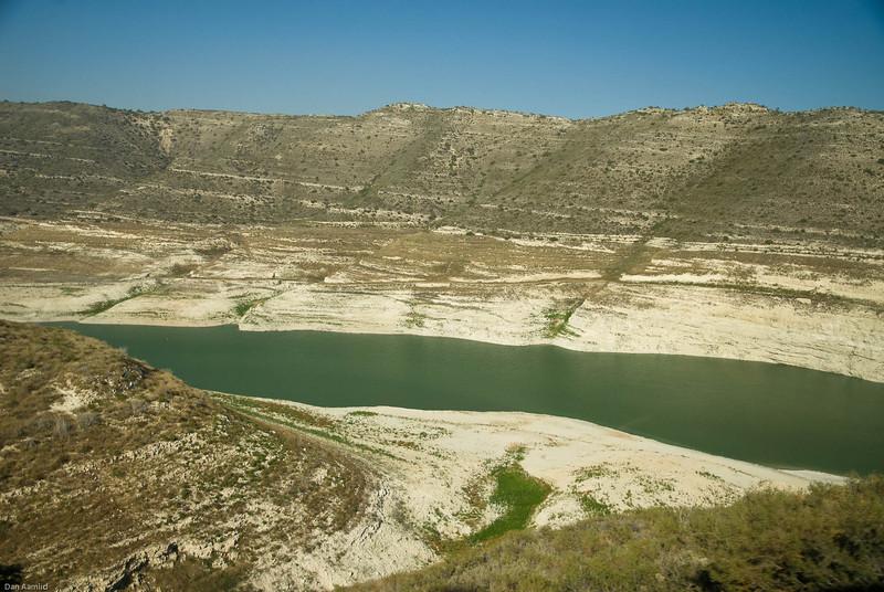 Kouris Dan, water reservoir, 2008