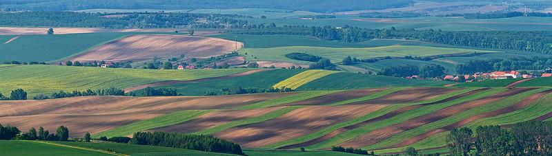 Fairytale landscape in Czech Republic.