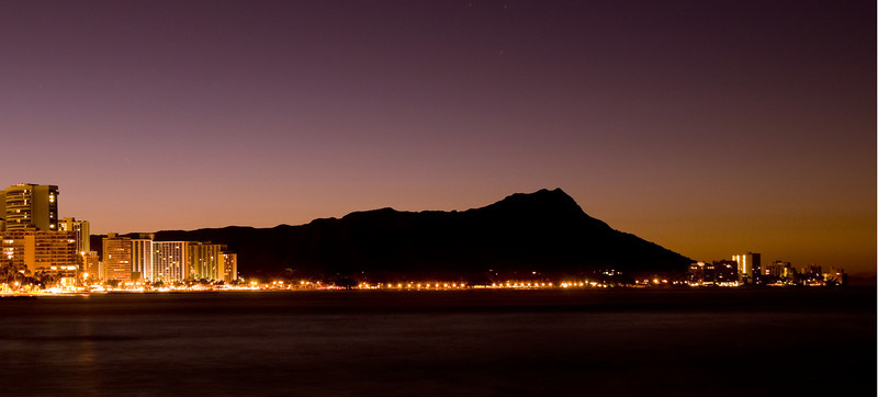 Dawn over Diamond Head