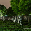 Korean War Memorial.  Taken in the dark with a long exposure.