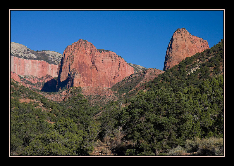 Kolob Canyons, Zion National Park, Utah...