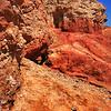 Red Rocks in desert