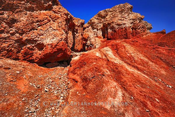 Red Rocks in desert 2