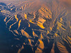 Textures and Cracks From Above - La Madre Wilderness, Las Vegas, Nevada