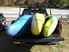 Three boats, packed in tight. November 4, 2006