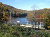 Tallulah Lake above the dam - November 4, 2006