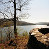 Fontana Lake and Dam were completed in the early 1940's to add more power to process aluminum for World War II, and many families on the north shore were forced from their homes, many leaving just before government officials set fire to their houses.