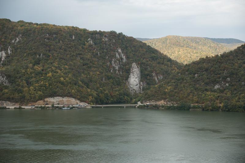 Orsova: Statue of King Decebalus