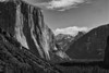 Yosemite Valley from Tunnel View in February.  That's right, no snow.