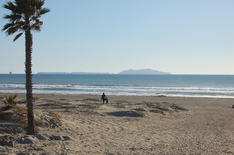 Anacapa Island from Oxnard