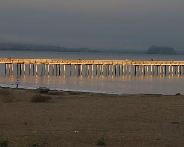 Cuyucus Peir Morro Bay, Central  California Coast