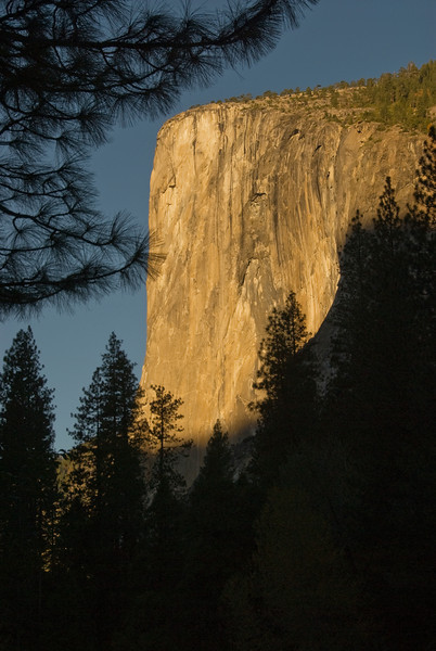El Capitan at sunrise