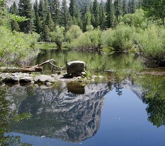 Mount Watkins Reflecting in Mirror Lake