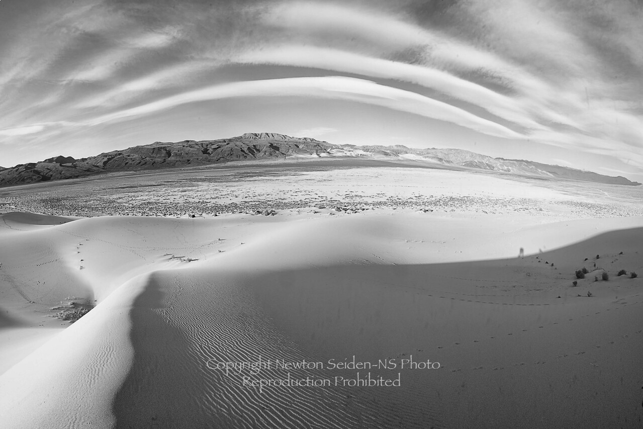Eureka Dunes Panorama