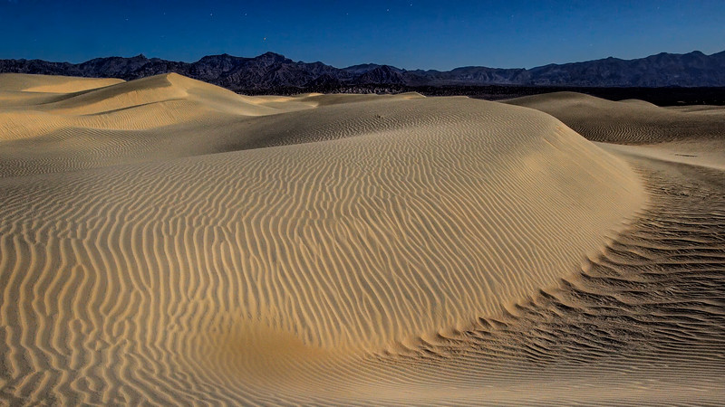 Mesquite Dunes, Death Valley, CA